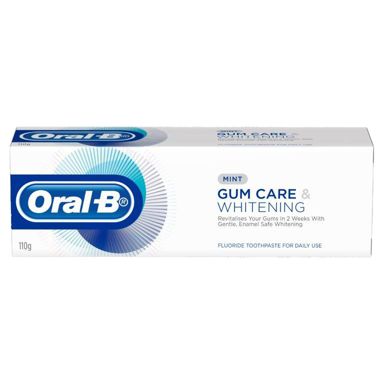 Oral B Gum Care and Whitening
